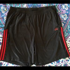 Men's adidas athletic shorts 2XL